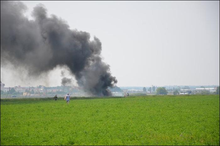 произошла авиакатастрофа