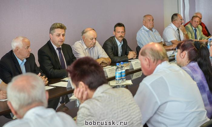 вопросы председателю Горисполкома г.Бобруйска