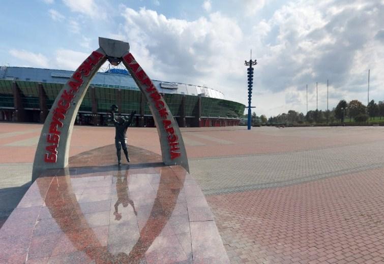 Сферическая 360-панорама Бобруйск-арены