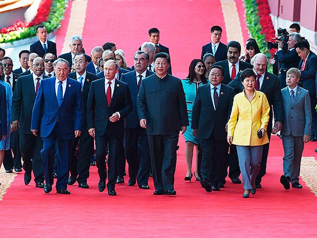 Президент Лукашенко в Пекине