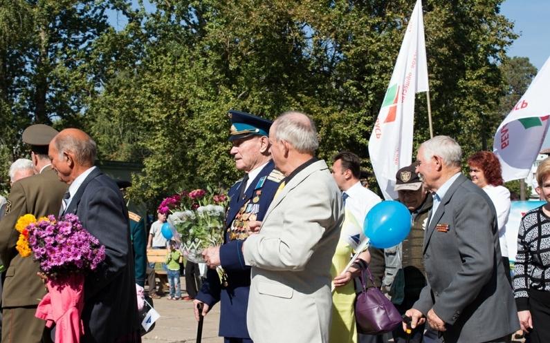 Празднование Дня танкиста