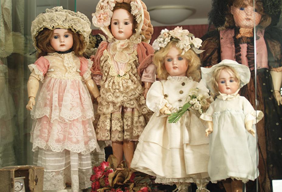 выставка уникальных кукол