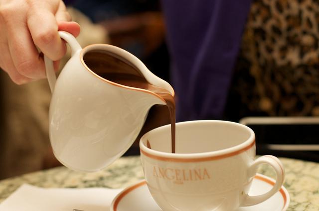 рецептуру горячего шоколада