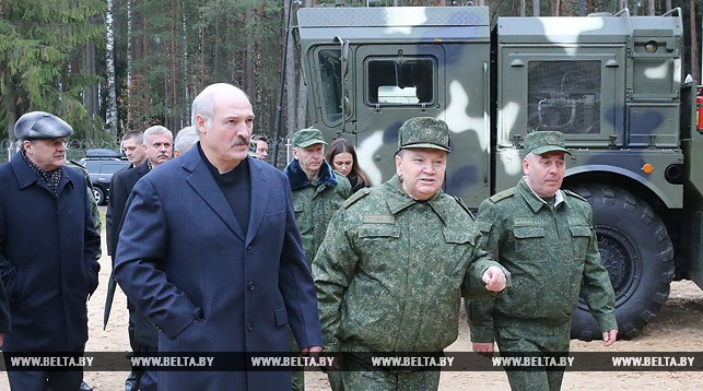 Основная военная стратегия Беларуси - оборонительная