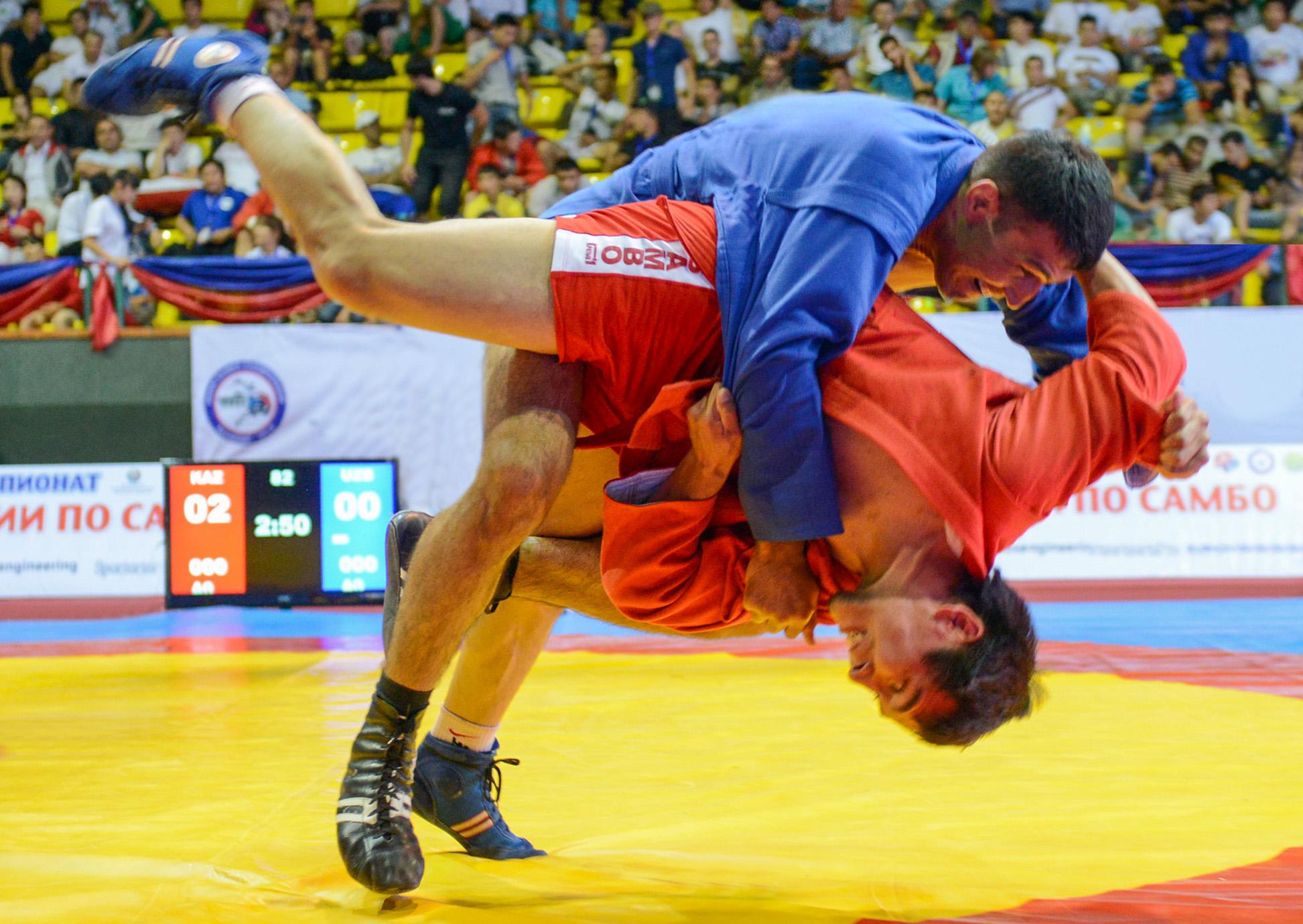 У Бобруйских самбистов бронзовая медаль мирового Чемпионата
