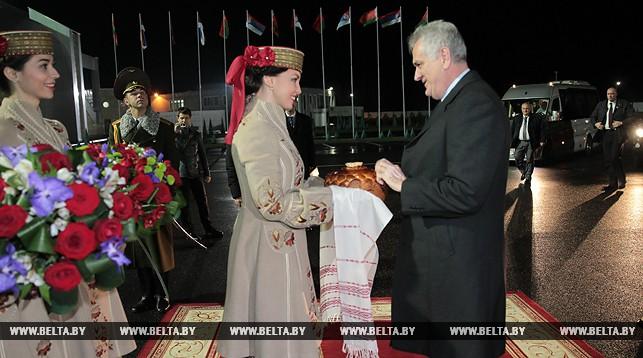 В Беларусь с официальным визитом прибыл президент Сербии