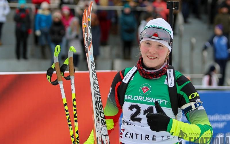 У новополочанки Дарьи Блашко третье место рейтинга лучших белорусских спортсменов