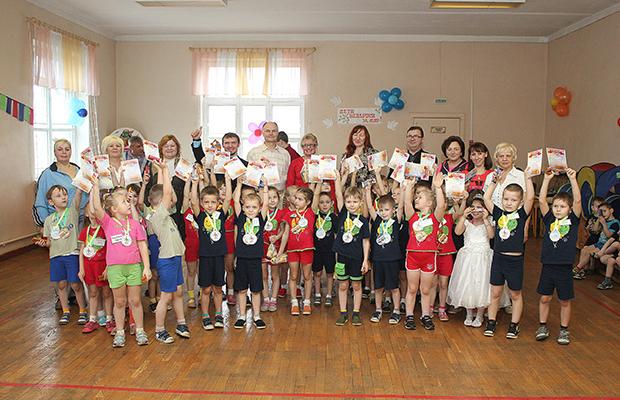 Маленькие бобруйчане стали участниками «Олимпийских игр»