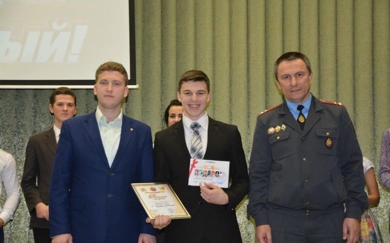 16-летнему Владиславу Рослику досталась победа в конкурсе «Я будущий участковый»