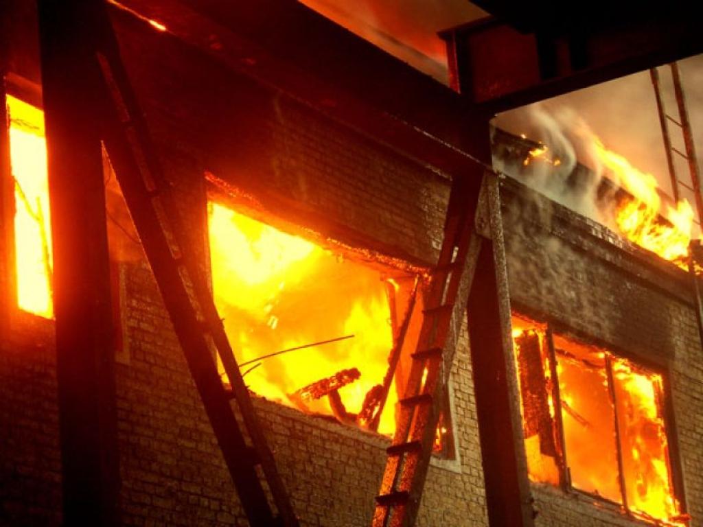 Пожар в бобруйском общежитии