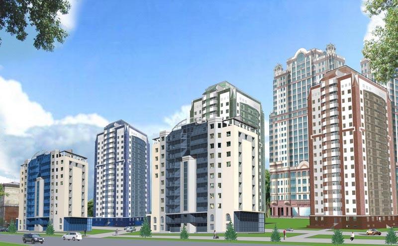 жилье современной постройки