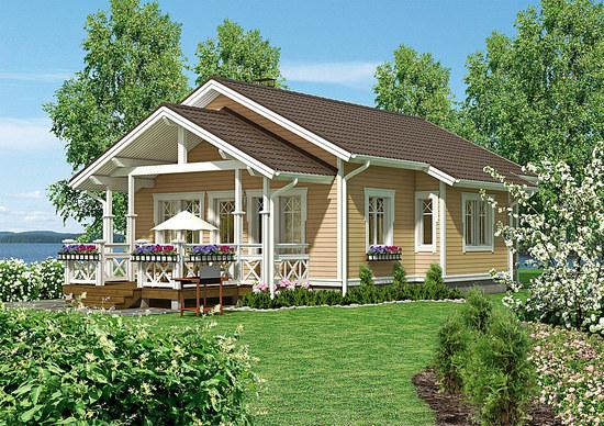 дачные каркасные дома