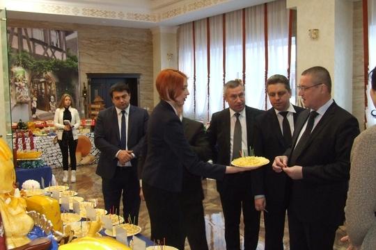 В Бобруйске состоялось торжественное открытие филиала «Бабушкиной крынки» с присутствием министра сельского хозяйства и продовольствия Беларуси
