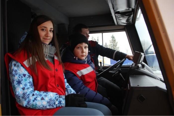 Бобруйский шестиклассник Кирилл Каблуков одержал победу проводимого на БЕЛАЗе конкурса