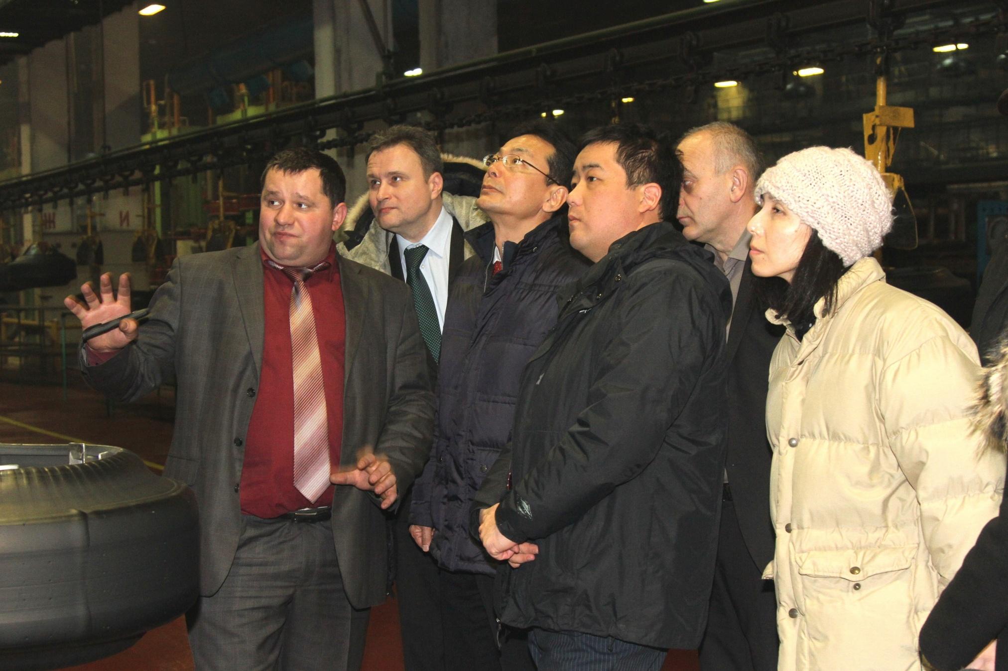 На «БЕЛШИНЕ» побывала делегация японской компании «KAWASAKI»