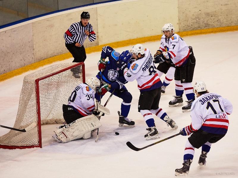 Хоккеисты бобруйского «Динамо» уступили команде «Лида»