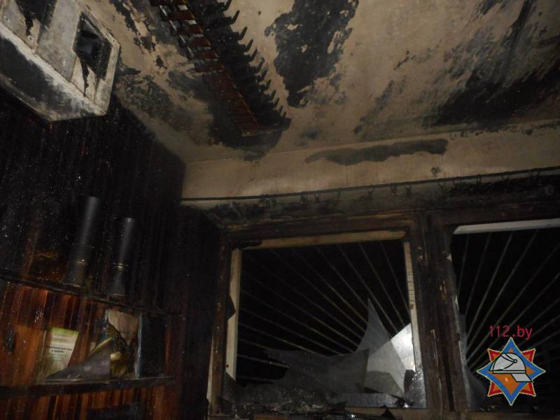 В первый день весны в Бобруйске горела школа