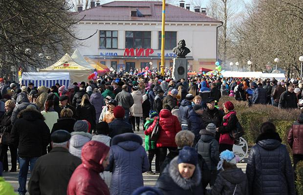 В Бобруйске подвели итоги проходивших в городе мероприятий посвященных празднованию Масленицы
