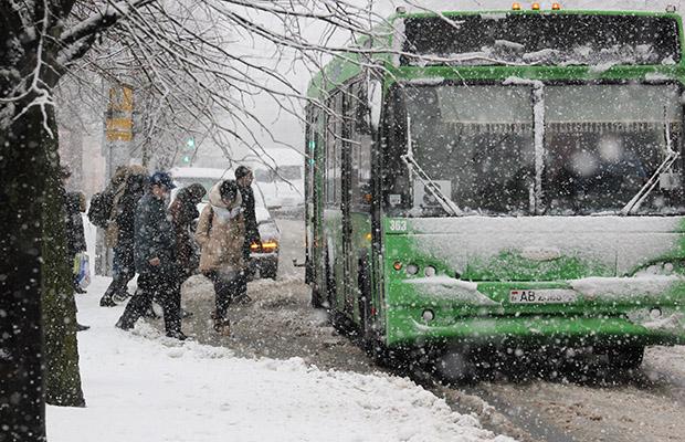 Бобруйск готовится к снегопаду и порывистому ветру
