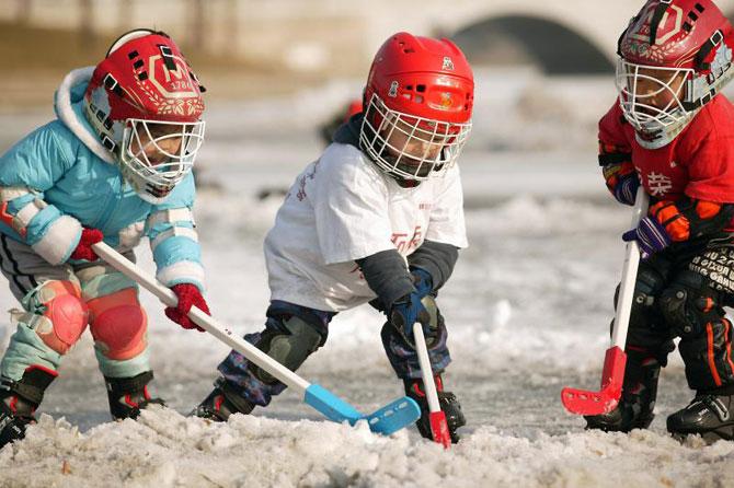 Идея создания детской хоккейной команды прозвучала в Бобруйске