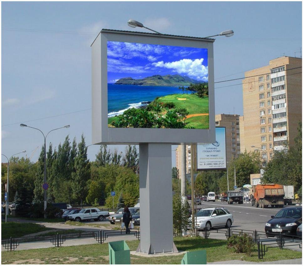 ветодиодные рекламные экраны