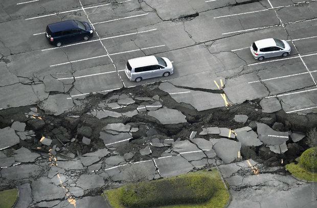 В Японии произошло еще одно сильное землетрясение: сообщается о 27 погибших