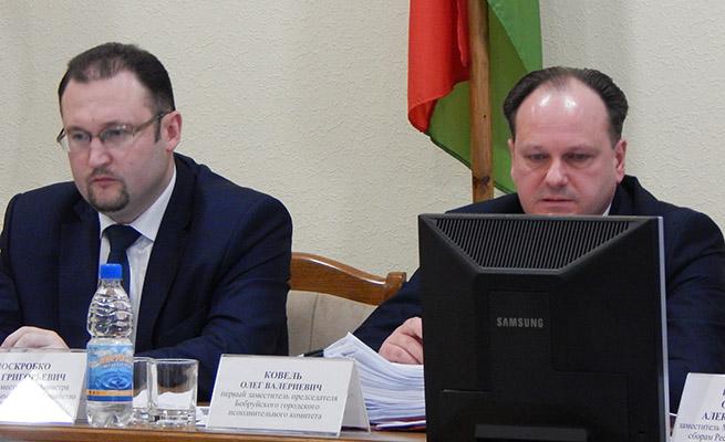 Рабочие итоги первого квартала обсудили в Бобруйске