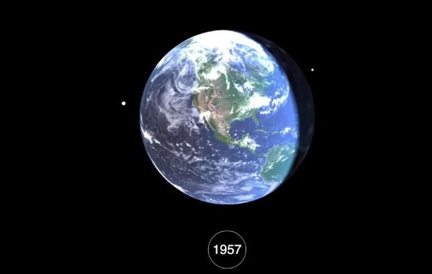 Сколько мусора люди привезли в космос с 1957 года