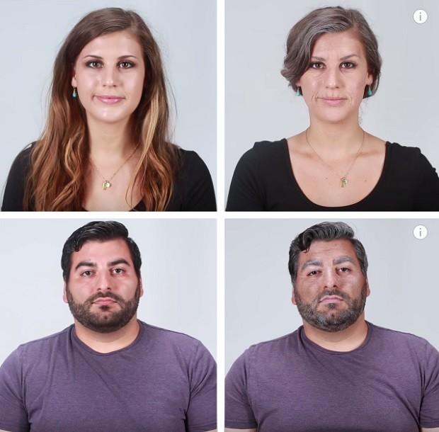 Визажисты показали влияние курения на внешность
