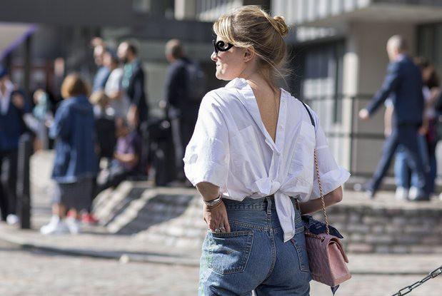Надетые задом наперед рубашки стали новым писком моды