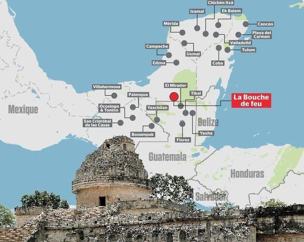 15-летний мальчик нашёл затерянный город майя по звёздной схеме