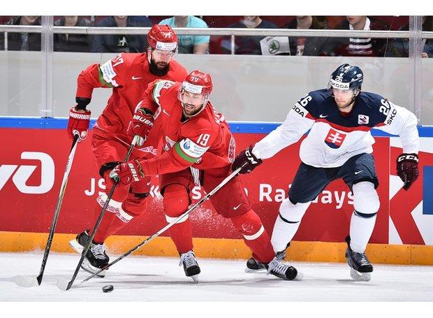 Белорусские хоккеисты одержали волевую победу над сборной Словакии