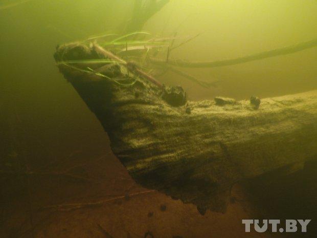 В Березине нашли три старинных корабля, но поднимать суда пока не собираются