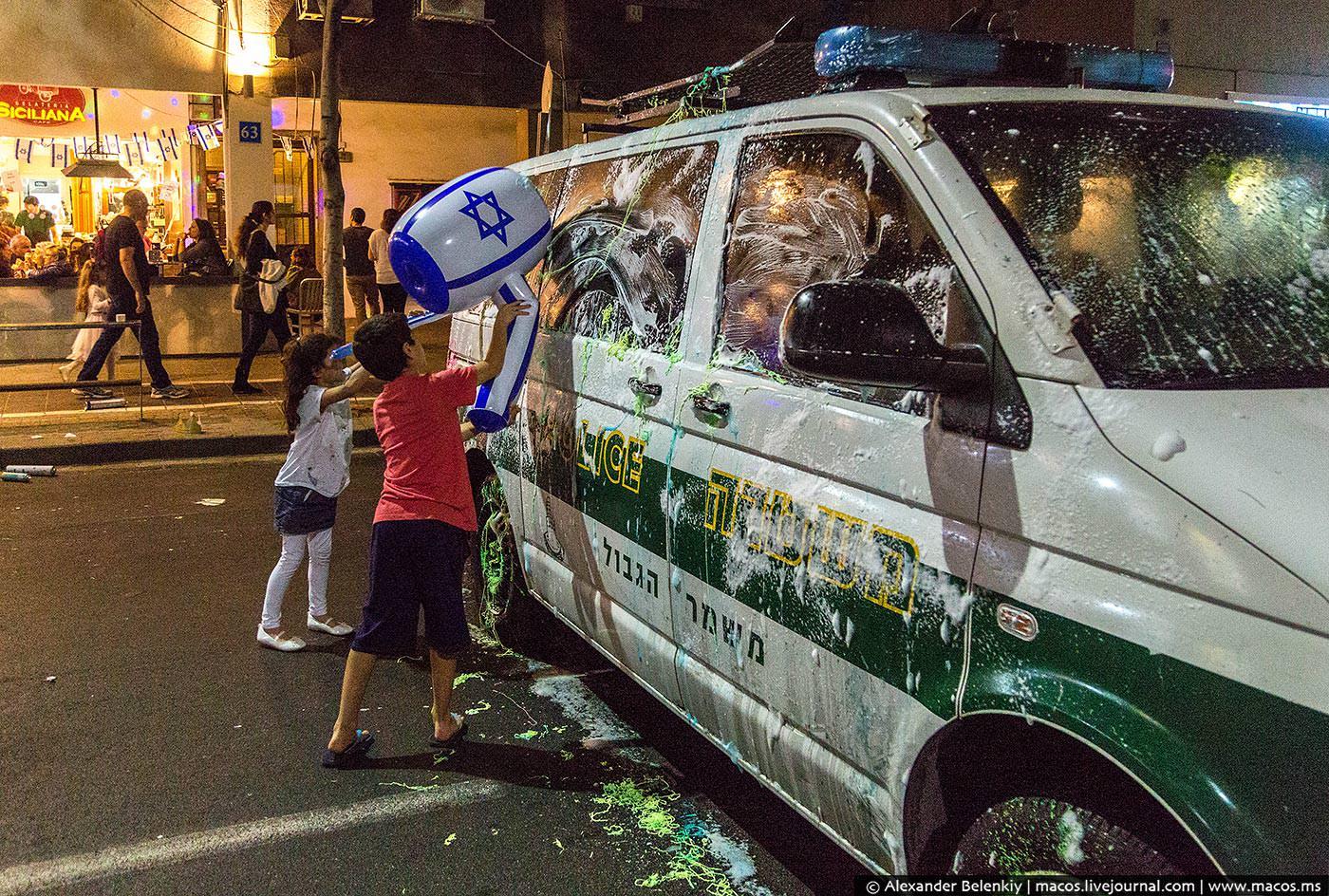 Как отмечают день независимости в Израиле