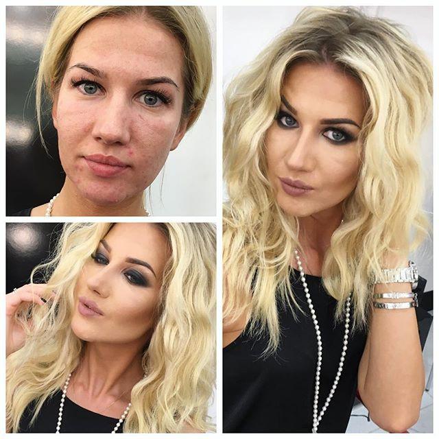 Примеры работ профессионального макияжа