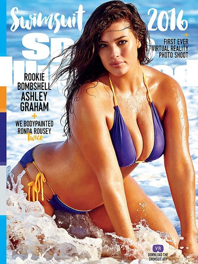 Мужской журнал Maxim впервые поместил на обложку модель plus size
