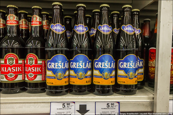Там пиво дешевле, чем вода