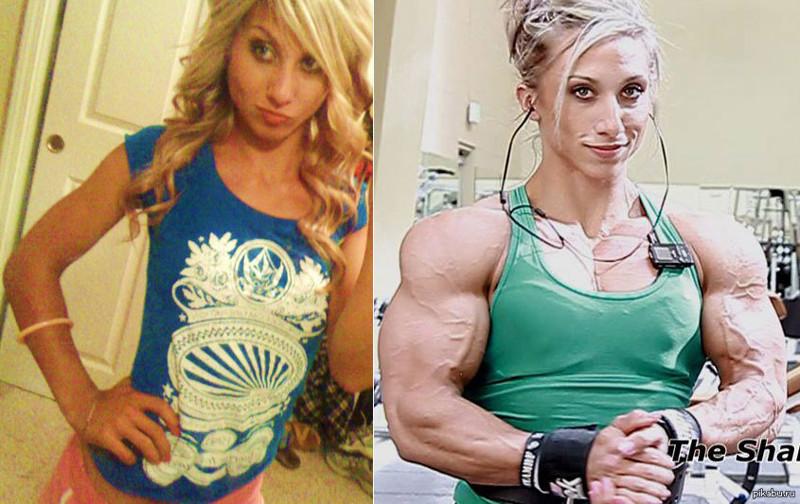 девушки на стероидах