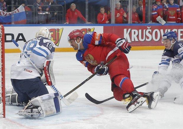 Россия на домашнем ЧМ по хоккею проиграла в полуфинале финнам