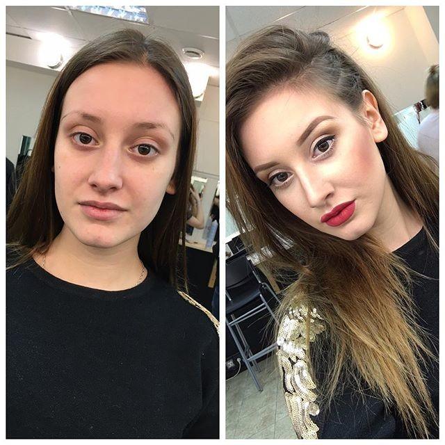 Никогда не доверяй женщине с макияжем