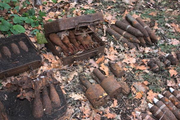 В Могилевской области обезвредили почти 1,5 тыс. боеприпасов времен Великой Отечественной войны