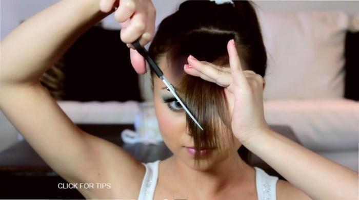Как самостоятельно подстричь модную чёлку и не пожалеть об этом
