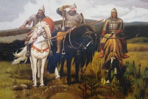 Три богатыря - реальные исторические личности