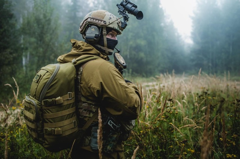 Современные солдаты, которые выглядят как пришельцы из будущего