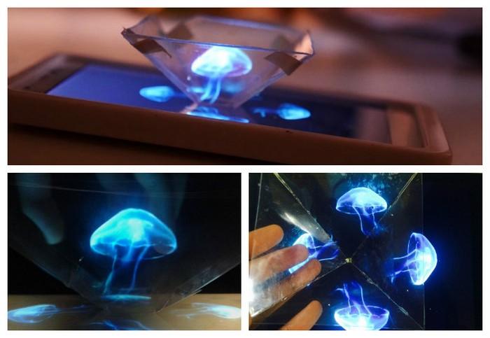 Приручаем голограмму: как превратить смартфон в 3D-проектор