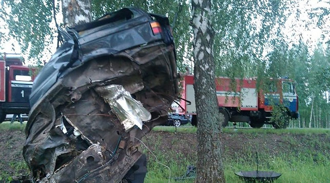 В Хотимском районе произошло серьезное ДТП