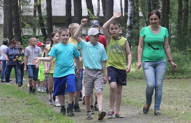 Бобруйск открыл школьную оздоровительную компанию