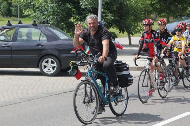 В Бобруйск прибыл грузинский посланник мира