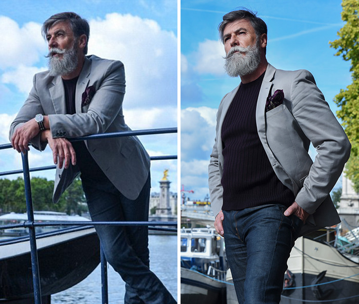 60-летний хипстер стал моделью благодаря интернету