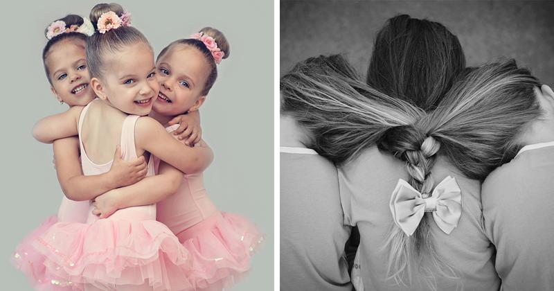 Жизнь тройняшек: мама делится очаровательными снимками своих шестерых детей